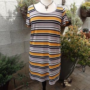 Torrid  rib t-shirt dress
